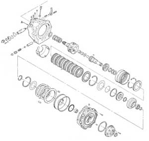 RepairGuideContent together with Ford T10 Transmission Diagram in addition Borg Warner T18 Transmission Identification further 97440 as well 700r4 Transmission Id. on borg warner t10 parts diagram