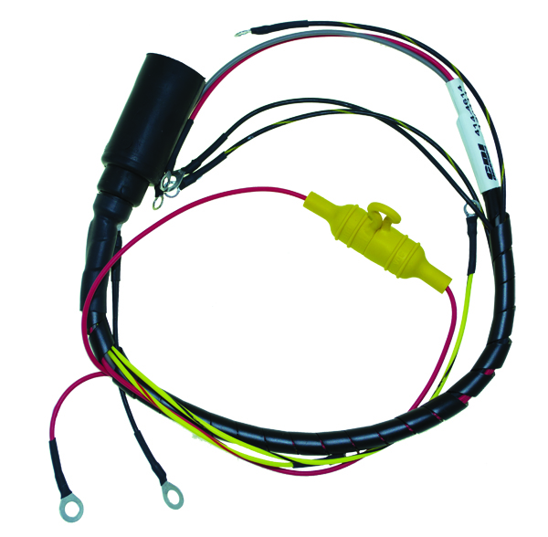 cdi marine engine wiring harnesses basic power