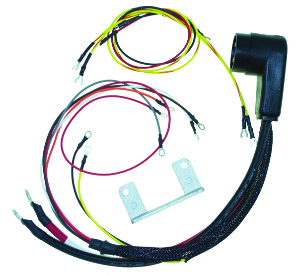 wiring harnesses mercury mariner outboards basic power