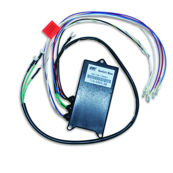 Mercury Outboard Switch Box Wiring Diagram