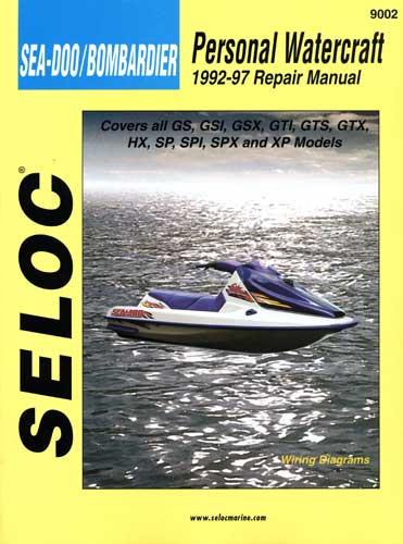 ... manual repair workshop manual for seadoo replacement bladder sea