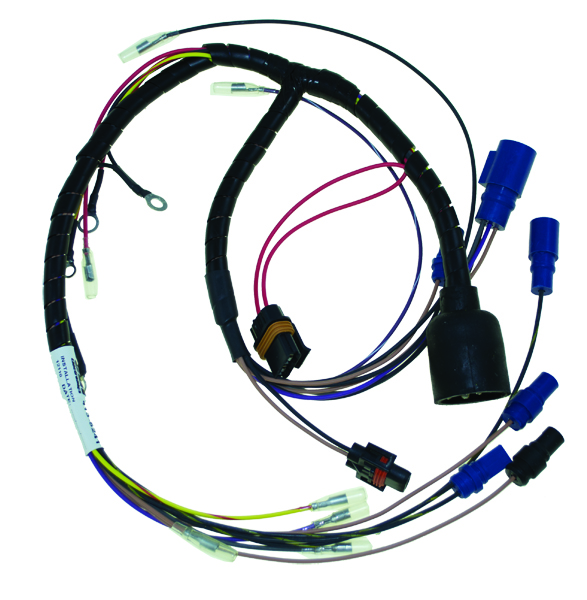 johnson evinrude wiring harness 115 hp evinrude wiring harness diagram wiring | harnesses | johnson | evinrude | outboards ... #4