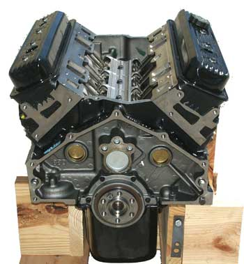 Eagle Marine New Vortec 350 V8 Long Block Engines ...