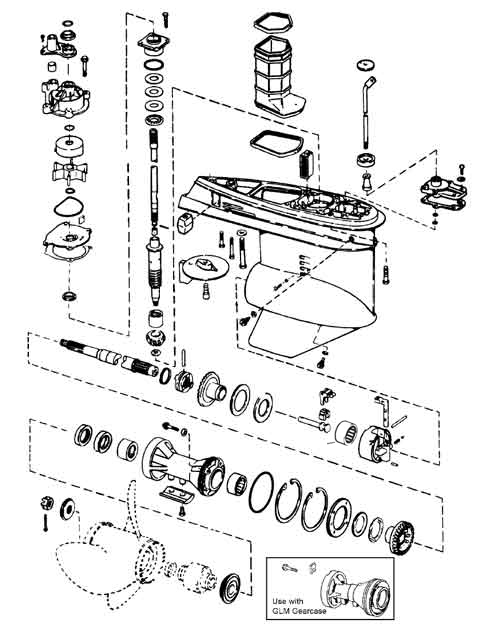 Gearcase Components