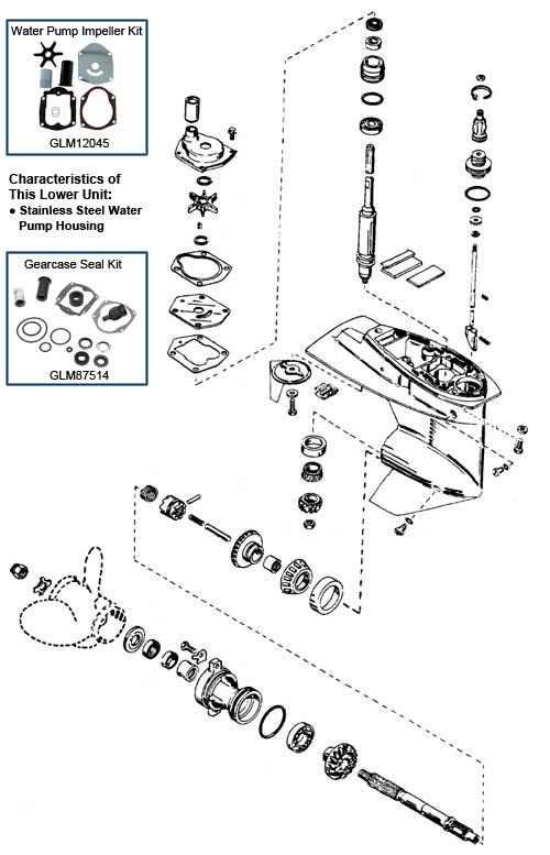 mercury 25 hp sea pro service manual