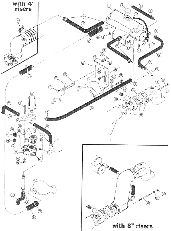 crusader 454 wiring diagram arctic cat 454 wiring diagram crusader - freshwater cooling full system