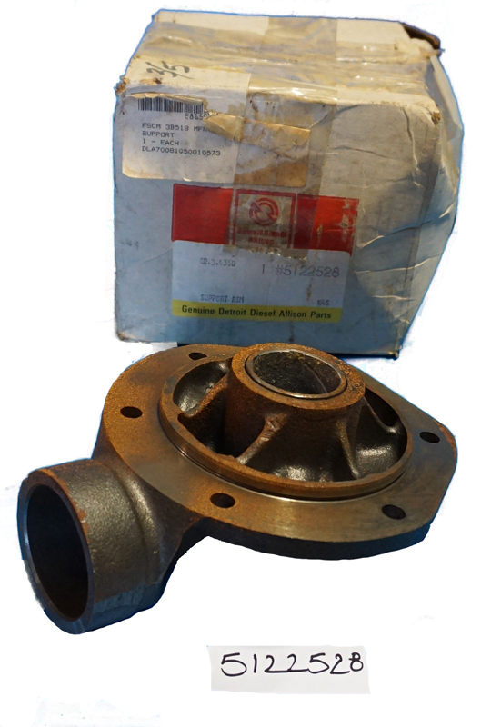 Support Blower Drive Inline 71 Detroit Diesel 5122528