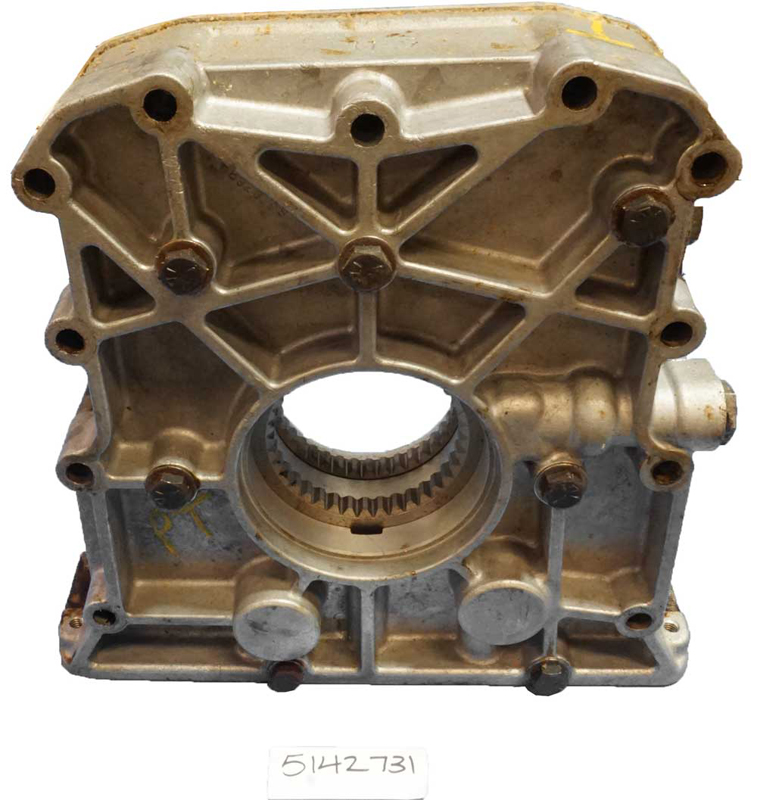 Oil Pump Aluminum for Gamma Goat 53 Series Inline Engines 5142731