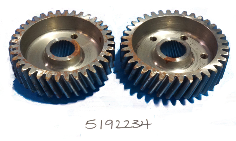 Gear Set Blower Timing for Inline 371 471 671 Detroit Diesel 5192234