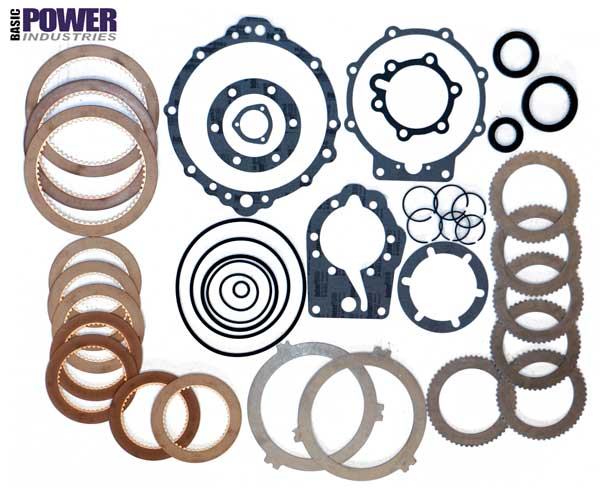 Overhaul Rebuild Kit Velvet Drive Borg Warner Transmission 71 72 1017 1018