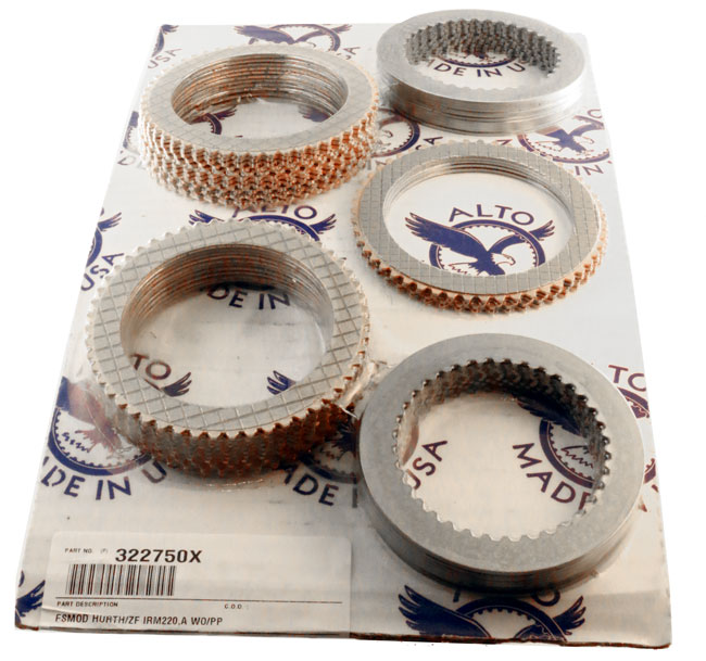 Clutch Plate Kit for Hurth ZF IRM220 IRM220A Kit Replaces 3205302062 3205302057