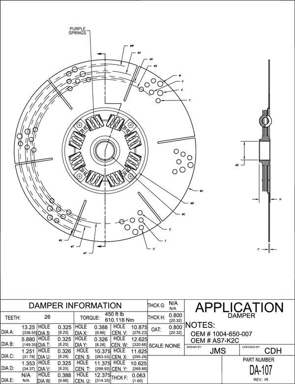 Damper  Information