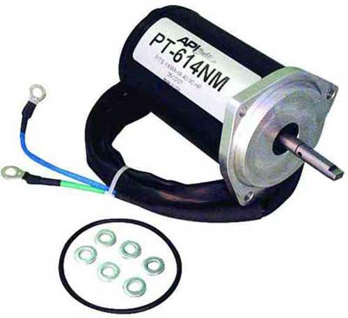 Trim tilt motor yamaha outboard 40 60 hp 62y 43880 01 62y for Trim motor for yamaha outboard