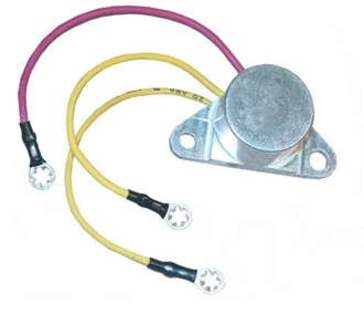 Rectifier, Johnson, Evinrude Outboard, 3-Lead [ARCAR103_] ... on