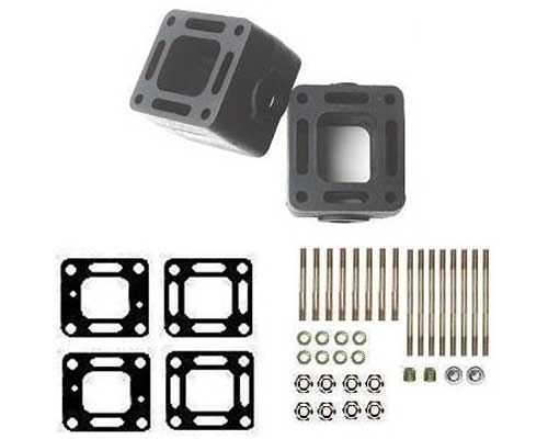 Riser Extension Spacer Block Kit for Mercruiser 3 Inch High 93320a13
