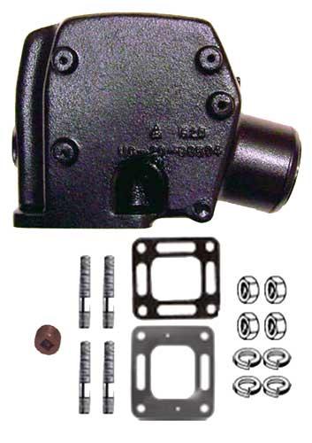 Exhaust  Riser  for  Mercruiser  3  Inch  Exhaust  98504A3