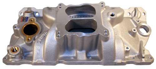 Intake Manifold Aluminum Marine 23 Degree GM 1987-95 Small Block V8