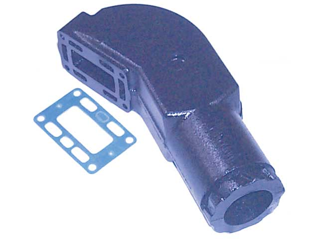 Exhaust Riser for Volvo Penta GM V8 1993 and prior replaces 856891