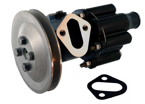 Water Pump Raw for Mercruiser 454 502 92-99 has Fuel Pump Mount 46-807151A8