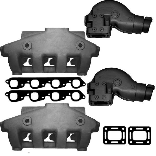 Manifold Exhaust Kit for Crusader XL 454 7 4L, 502 8 2L V8 [BPIBBXL] -  $899 95