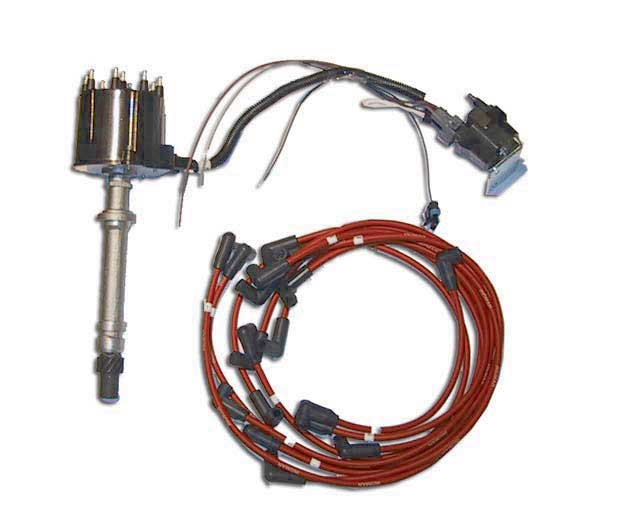 Electronic Ignition Distributor Kit Delco Est Marine V8 GM 305 350 454 502 Edm550002: GM Electronic Ignition Wiring Diagram At Shintaries.co