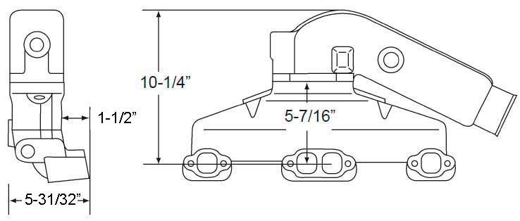BPISBCIND3.5L measurements