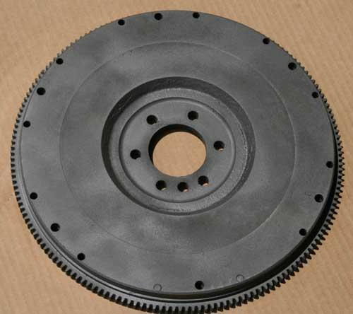 reverse  side  of  flywheel