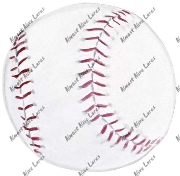 Vinyl Decal (Made in USA) Baseball STK313L