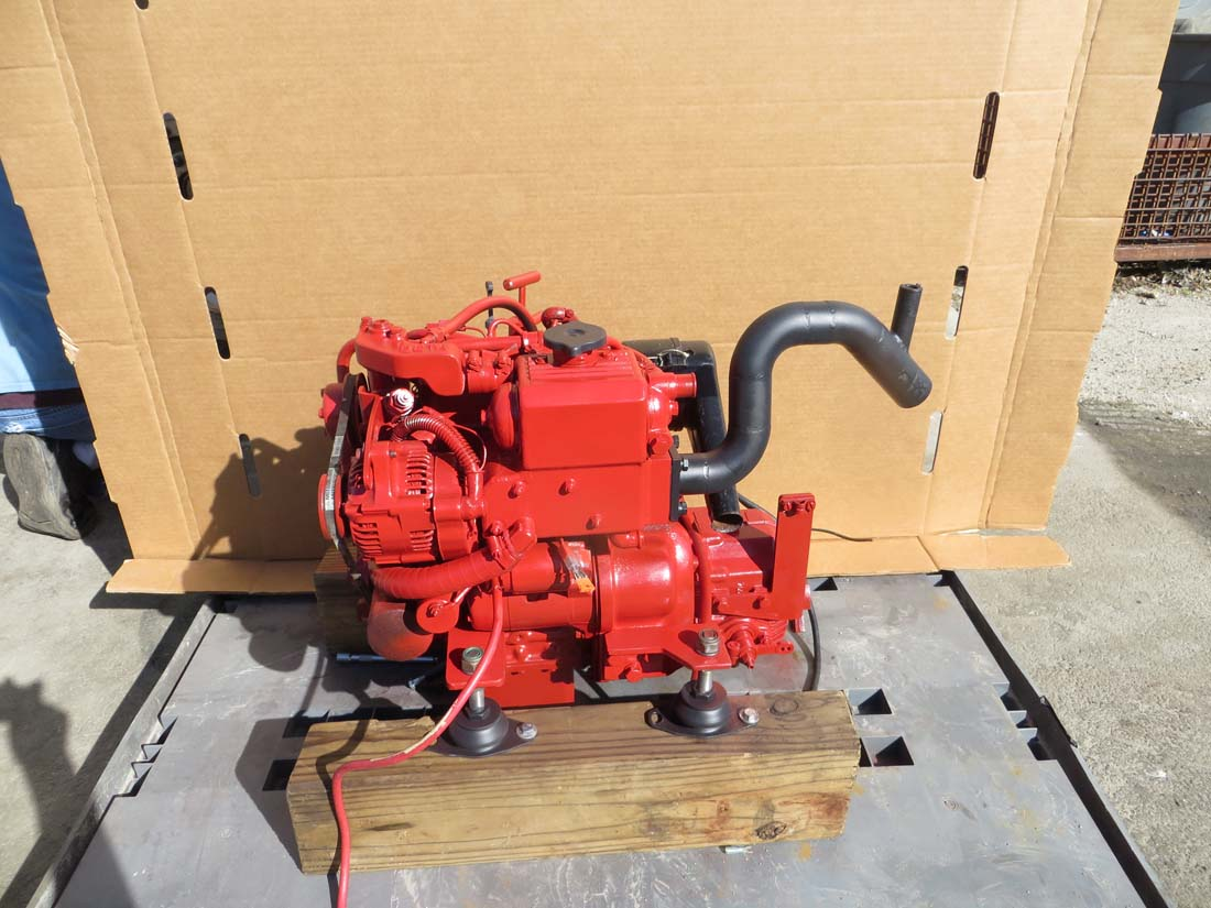 Beta Marine Diesel BETA14 with Twin Disc 2:1 Transmission