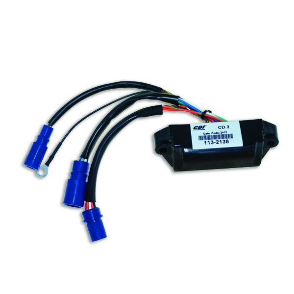 Power Pack for Johnson Evinrude Outboard 3 or 6 Cylinder 582138 CDI