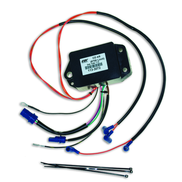 Power Pack for Johnson Evinrude 4 8 Cyl 120-300HP CDI 113-3072 583072