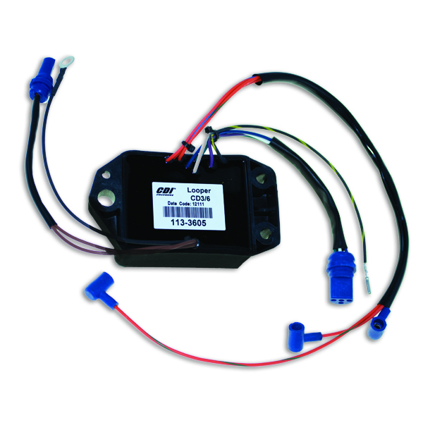 Power       Pack    for Johnson    Evinrude    V6 198687 200HP 26L CDI