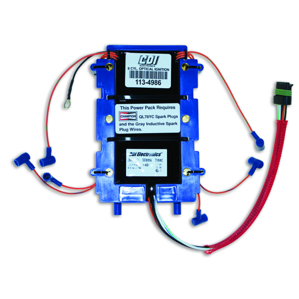 Power Pack Optical For Johnson Evinrude 6 Cyl Cdi 113