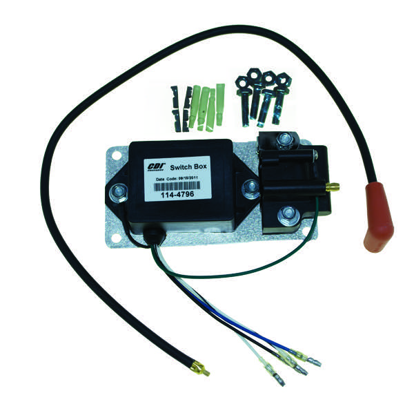 Switch Box For Mercury 3 Cylinder 65 Hp 650 1972