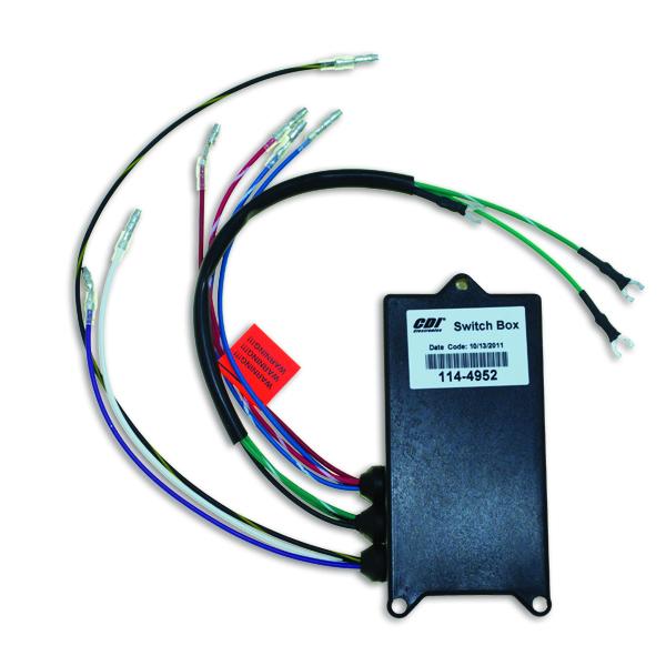 CDI Electronics Mercury Outboard Switch Box Sport Jet 114-6866 C117