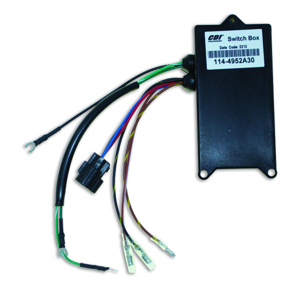 CDI114 4952A30 switch boxes for mercury mariner outboards switch box wiring diagram for mercury 90 at arjmand.co