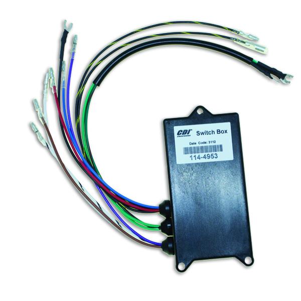 CDI 114-4953 Switch Box Mercury 3 cyl 60 75 90 95 Hp 90-95 Sport Jet 1994-97
