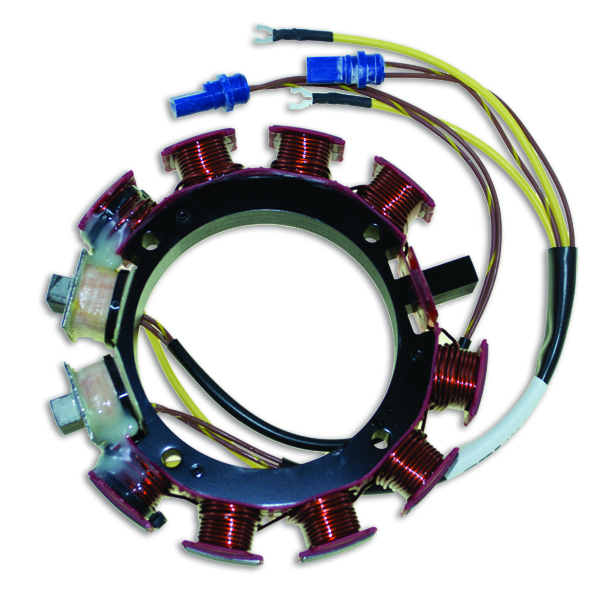 Stator for Johnson Evinrude 35 Amp V6 150-175 84-88 583668 173-3668