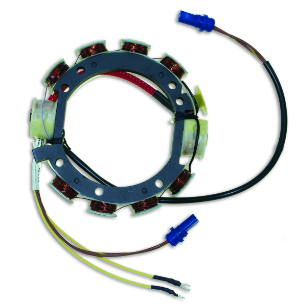 Stator for Johnson Evinrude V4 V6 85-235 HP 1978-87 9 Amp 583672
