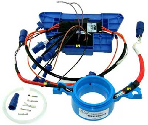power packs rpms limiters for johnson evinrude outboards 1996 Ranger Wiring Diagram digital ignition kit johnson evinrude 185 200 225 hp v6 1988 2000 cdi213 6665k1