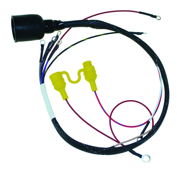 alternator wire harness wire size wiring harness for johnson evinrude 1974-1977 70-75 hp ... #12