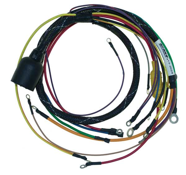 wiring harness engine for omc stringer 1979-1981 4 cyl ... 1992 omc outboard wiring harness