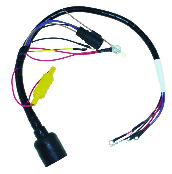 CDI413 3444 johnson evinrude wire harness basic power list terms Auto Wiring Color Code 1950 Mercury at gsmx.co