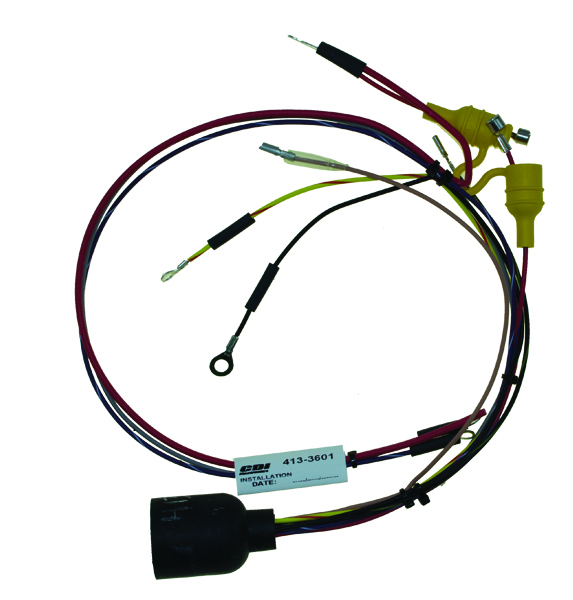 wiring harness for johnson evinrude 1988 20 25 28 30 hp. Black Bedroom Furniture Sets. Home Design Ideas