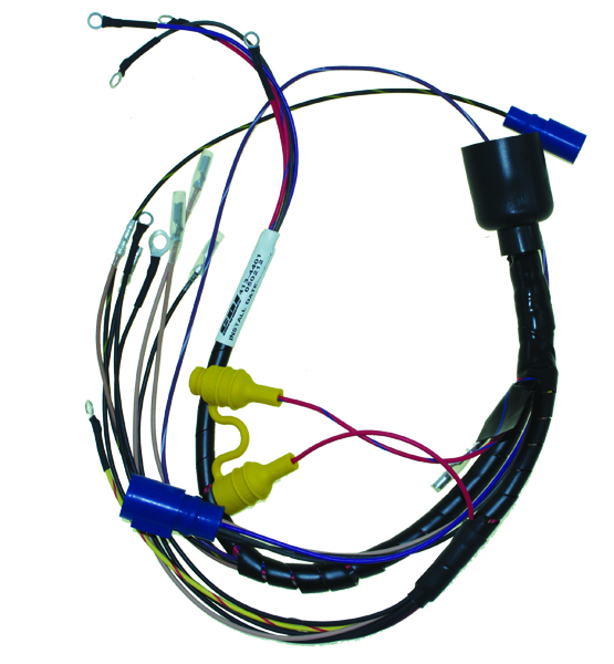 wire harness for johnson evinrude 1992 96 50 70 hp 3 cyl. Black Bedroom Furniture Sets. Home Design Ideas