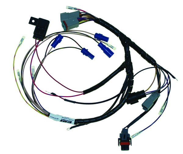 omc 1972 225 wiring harness wire harness internal engine for johnson evinrude 96-99 ...