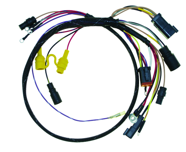 wiring harness  johnson  evinrude 96 88 115 hp crossflow