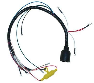 wire harness internal for johnson evinrude 3 cylinder 65hp. Black Bedroom Furniture Sets. Home Design Ideas