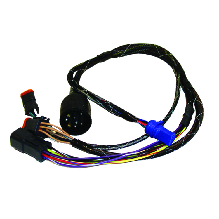 johmson wiring harness 300w led wiring harness in 3m length relay switch button motorcycle wiring harness