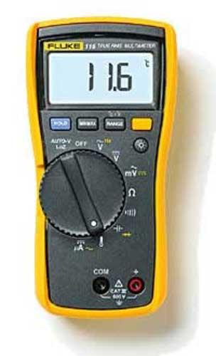 Fluke Voltage Meter : Tool fluke multimeter volt meter ohm ebay
